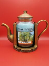 Yankee Candle Copper Kettle Large Jar Holder My Favorite Things Retired And Rare