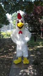 Chicken Mascot Costume Suits Cosplay Party Game Dress Outfits Clothing Advertis