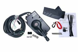 8 Pin Boat Motor Side Mount Remote Control Box For Mercury Outboard Engine
