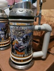 Pittsburgh Steelers Jerome Bettis Collectible Beer Stein Danbury Mint Rare