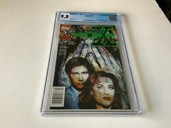 X-files 1 Cgc 9.8 White 1st Comic Appearance Mulder Scully Topps Comics 1995 Tt