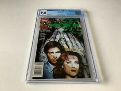 X-files 1 Cgc 9.8 White 1st Comic Appearance Mulder Scully Topps Comics 1995 Jj