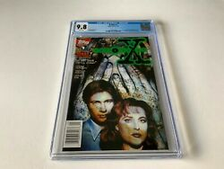 X-files 1 Cgc 9.8 White 1st Comic Appearance Mulder Scully Topps Comics 1995 Ff