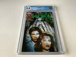 X-files 1 Cgc 9.8 White Pages Tv Fox Mulder Dana Scully Topps Comics 1995 X2