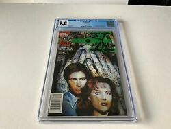 X-files 1 Cgc 9.8 White 1st Comic Appearance Mulder Scully Topps Comics 1995 Hh