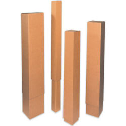 24 3/4 X 8 3/4 X 57 Double Wall Telescoping Outer Boxes Brown Ect-48 50 Pcs