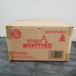 Star Monsters Series 1 Pocket Friends Case Of 8 Display Boxes - 240 Blind Bags