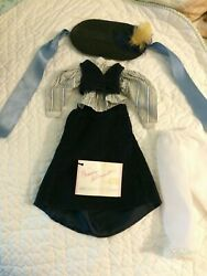Madame Alexander Outfit For Anne Becomes The Teacher 7 Pieces W/chalkboard