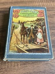 """""""fogg's Ferry"""" By C. E. Callahan, 1st Edition, Pictoral Cover, 1902"""