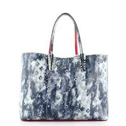 Christian Louboutin Cabata East West Tote Printed Leather Large