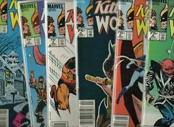 Kitty Pryde And Wolverine, 6 Issues Marvel, 1984 9.2-9.6