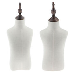 2 Sizes 2-4 Years Old Child/kids Body Dress Form Mannequin White Linen Cover