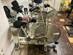 Vintage Schwinn Airdyne Dual Action Exercise Bike With Monitor
