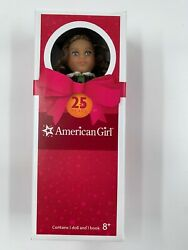 American Girl Doll Retired Marie-grace 25th Anniversary Mini Doll And Book.