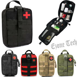 Tactical First Aid Kit Medical EMT Bag Emergency Survival Molle IFAK Pouch