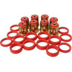 3.3132r Energy Suspension 4-arm Set Control Arm Bushings Rear New For Chevy Olds