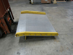 B And P Aluminum Dock Plate 10,000 Pound Capacity With 4 Curb