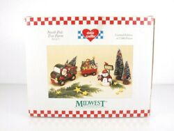 Midwest Of Cannon Falls Eddie Walker Christmas Set North Pole Tree Farm 3 Pieces