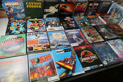 Retro Collectable Game Joblot Amiga Tested And Working Maybe The Odd Atari St