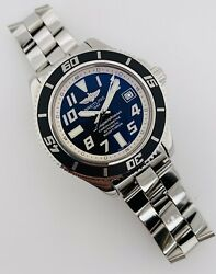 Breitling Superocean Abyss 42mm Automatic Black Dial Steel A17364