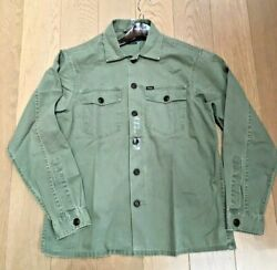Polo Men's Classic Fit Long Sleeve Shirt, Army Green Bigandtall