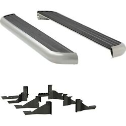 575102-570939 Luverne Running Boards Set Of 2 New Polished For Ram Truck Pair