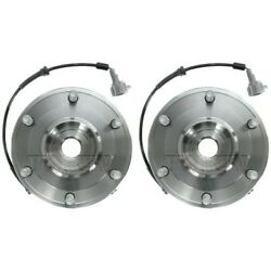 Set-tmsp500701 Timken Wheel Hubs Set Of 2 Front Driver And Passenger Side New Pair