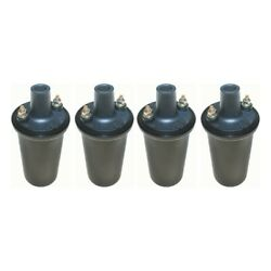 Set-wkp9201040-4 Walker Products Set Of 4 Ignition Coils New For Vw 2000 2002