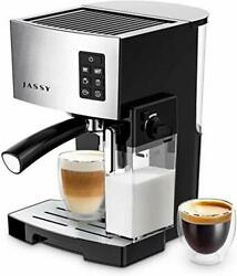 Espresso Coffee Machine 19 Bar Cappuccino Maker With Powerful Milk Tank For Home