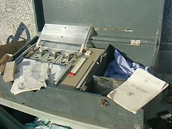 Rare Response Recorder Polygraph Russian 3 Channel Large Military