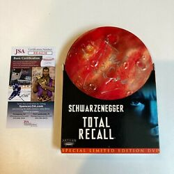 Paul Verhoeven Signed Autographed Total Recall Dvd With Jsa Coa