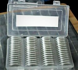 60 2020 Silver Eagle Dollars - In Holders - Free Shipping W/ins. - Uncirculated