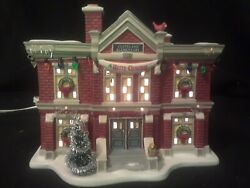 New Department 56 A Christmas Story Cleveland Elementary School Lighted Village
