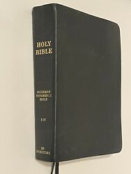 Holy Bible Indexed Old And New Testaments King James Version Bb Bookstore 2009