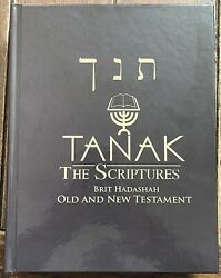 Tanak The Scriptures Old And New Testaments More Than 490k Transliteration