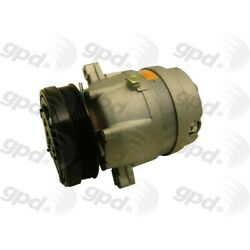 6511314 Gpd A/c Ac Compressor New For Chevy Olds Cutlass With Clutch Grand Prix