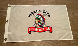 2004 Us Open Shinnecock Hills Golf Club Pin Flag Embroidered 104th Us Open