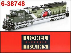 Lionel 6-38748 Bnsf Northern Pacific Np Heritage Sd70 Ace Legacy 1872 2013 C9