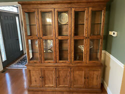 China Cabinet Hutch Used- Great Condition