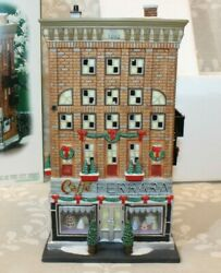 Dept 56 Christmas In The City 2007 Ferrara Bakery And Cafe 56.59272 New Ob