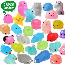 Orwine Squishies 28pcs Mochi Squishys Toys 2nd Generation Party Favors For...