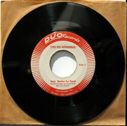 Marlene Verplanck Little Miss Butterfingers/it's You... Duo Records Jazz Vocal