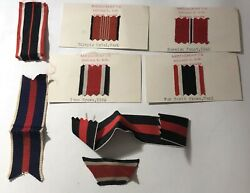 Ww2 German Ribbons For Medals