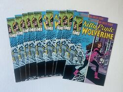 Kitty Pryde And Wolverine 1 1984 9 Copies Vf/ Nm- Warehouse Find