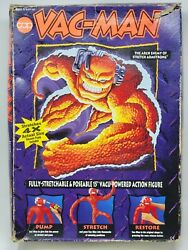 Cap Toys Vac-man Figure Arch Enemy Of Stretch Armstrong 1994 In Box