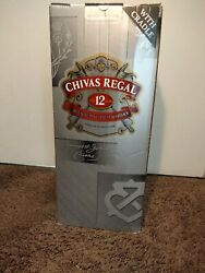 Chivas Regal Aged 12 Years Blended Scotch Whisky With Cradle