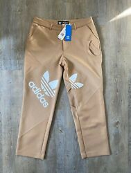 Womens Adidas Bangkok Originals X Dry Clean Only Suit Pants High Fashion Stree..