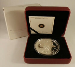 2012 Canada 1-cent 5-oz Farewell To The Penny Fine Silver Coin