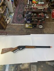 Vintage Daisy Model 1938 Red Ryder Bb Air Rifle W/ Saddle Ring, No 1938b Parts