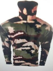 Chemise Polaire Camo Ce Chasse-peche-airsoft-rando Neuf Emballee